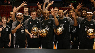 Newcastle Eagles - Great Britain BBL 2012 champions